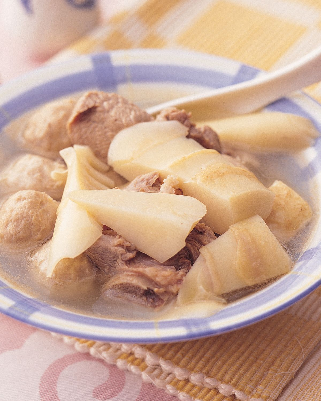 食譜:桂竹排骨湯