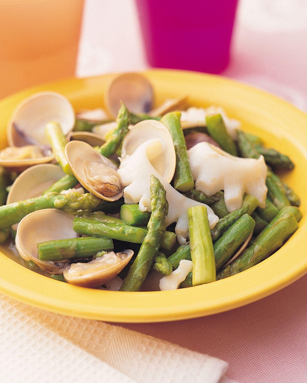 食譜:海鮮炒蘆筍