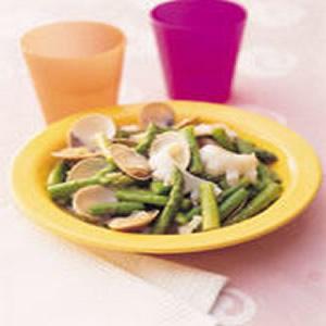 海鮮炒蘆筍