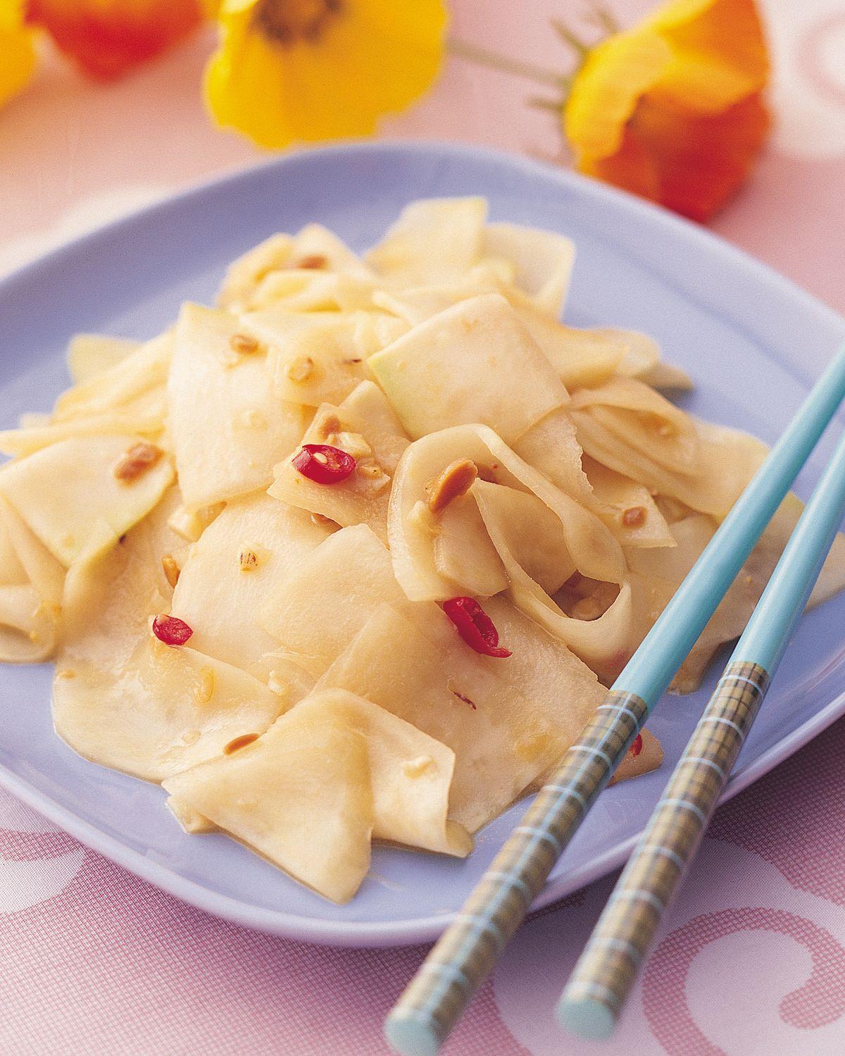 食譜:涼拌大頭菜(2)