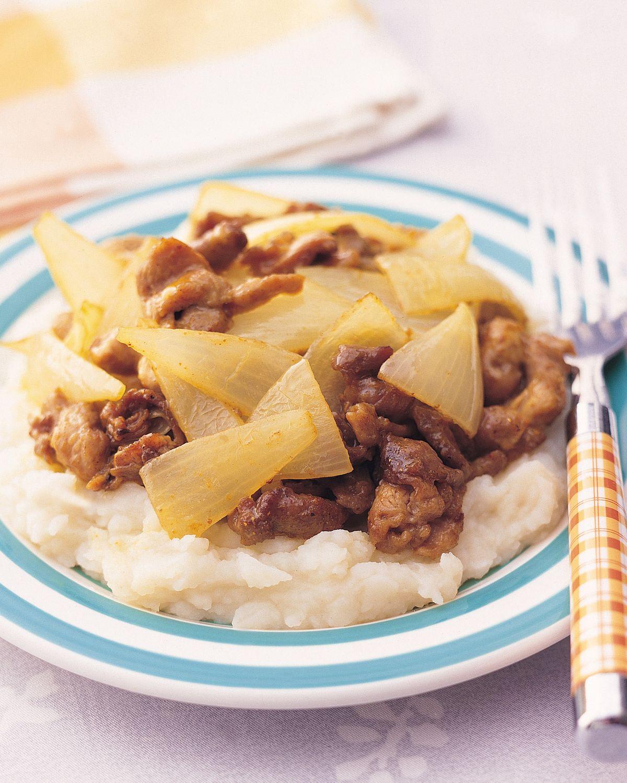 食譜:洋蔥醬薯泥