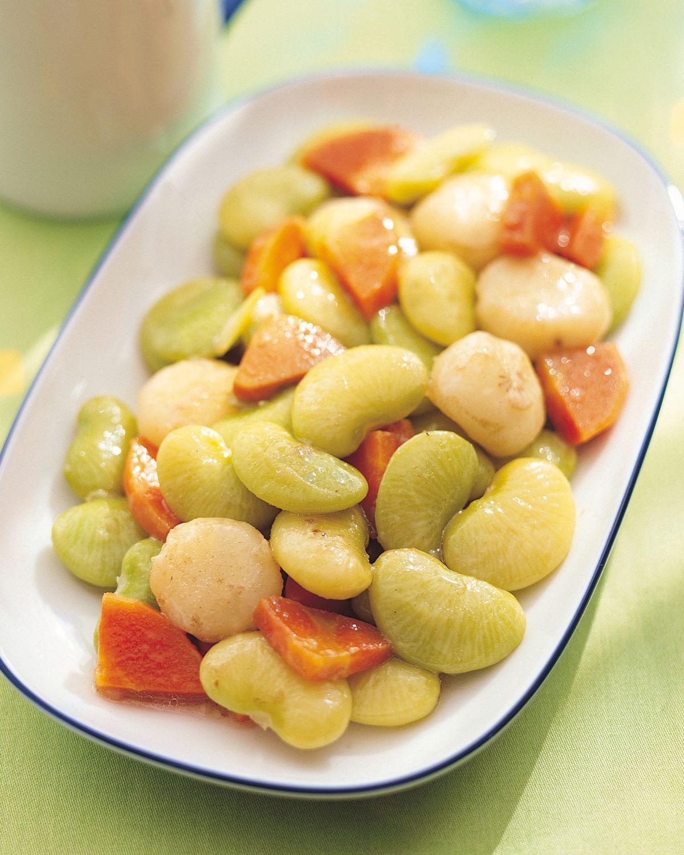食譜:素炒皇帝豆
