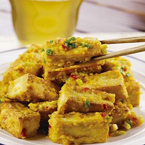 金沙豆腐(2)