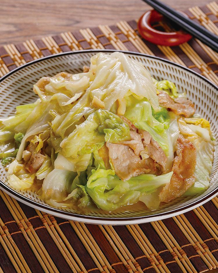 食譜:味噌高麗菜