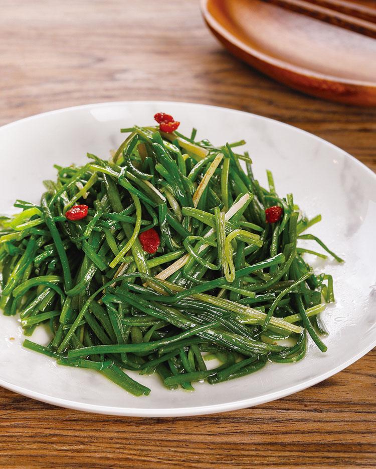 食譜:清炒水蓮(1)