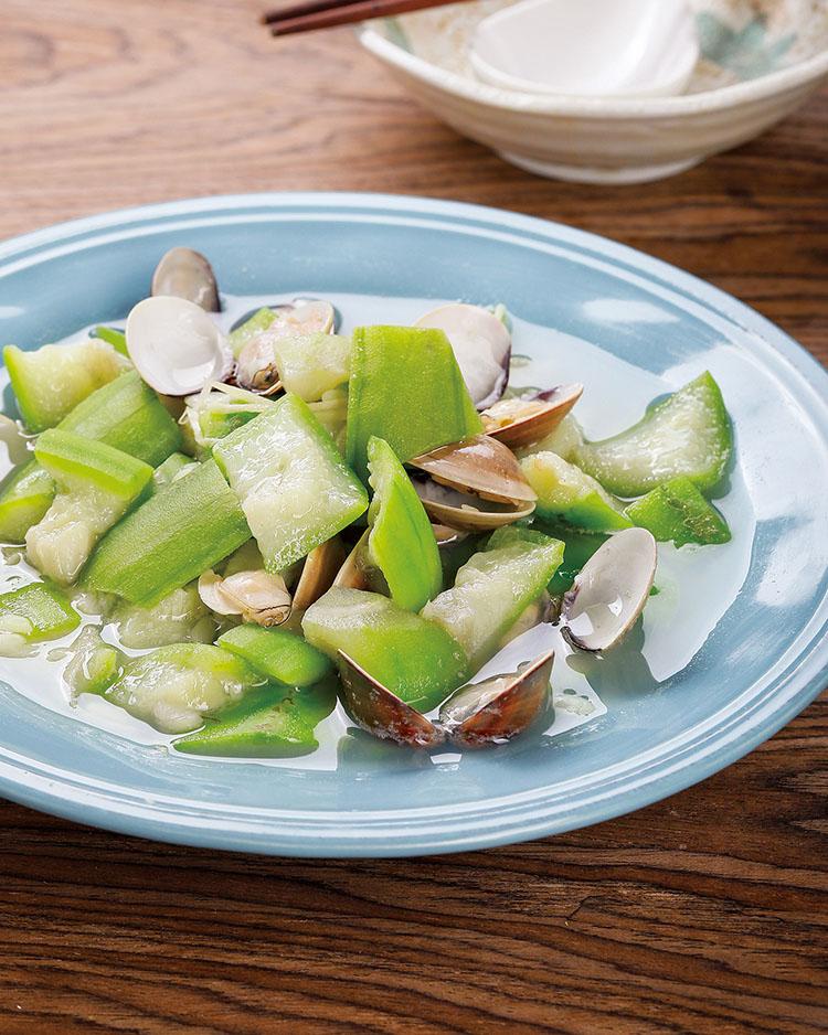 食譜:蛤蜊絲瓜(15)