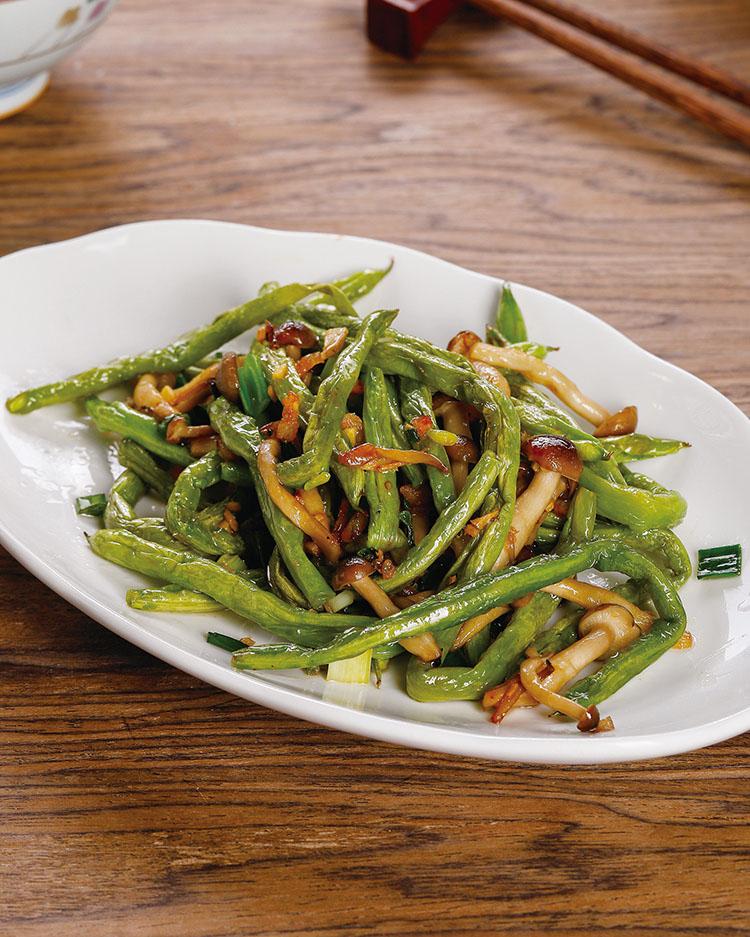 食譜:乾香四季豆