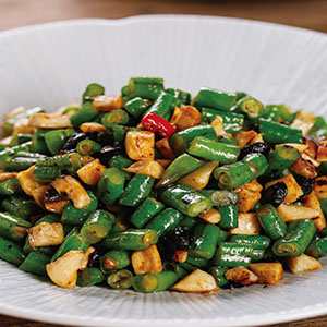豆豉炒長豆