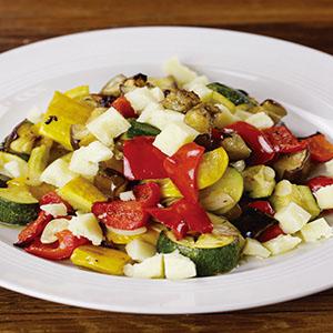 烤野菜沙拉