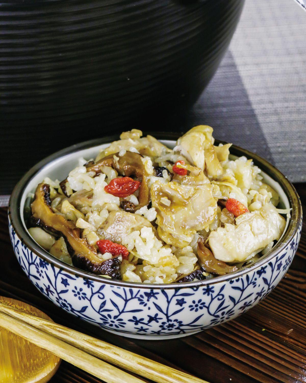 食譜:麻油雞飯(2)