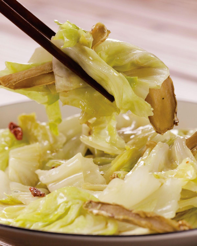 食譜:麻油高麗菜