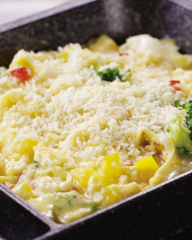食譜:起司蔬菜炒蛋