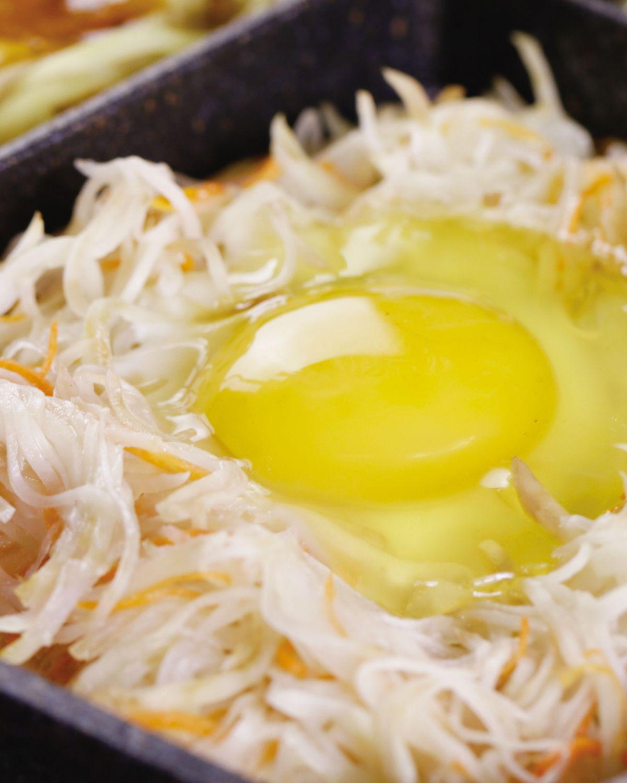 食譜:鳥巢蛋