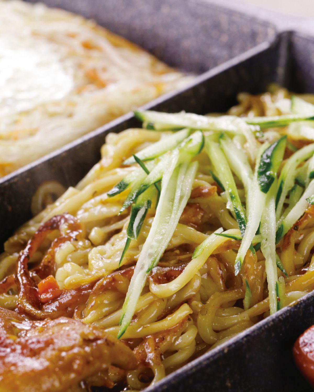 食譜:鐵板麵(1)