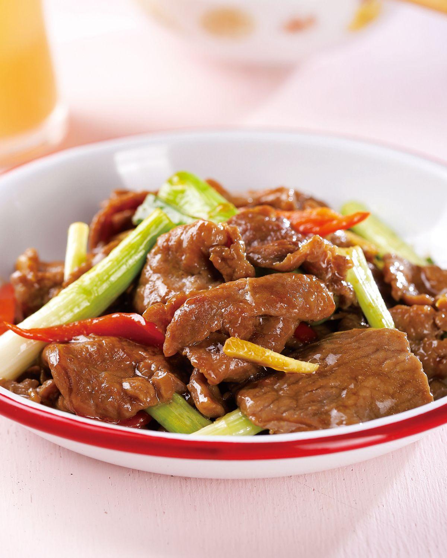 食譜:蔥爆牛肉(21)
