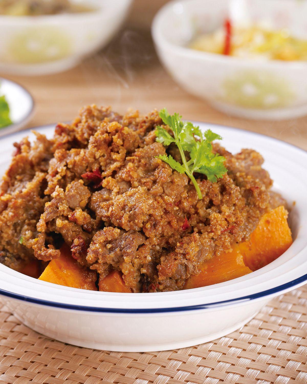 食譜:粉蒸牛肉(1)