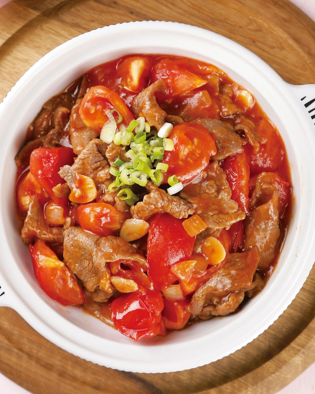 食譜:番茄牛肉煲