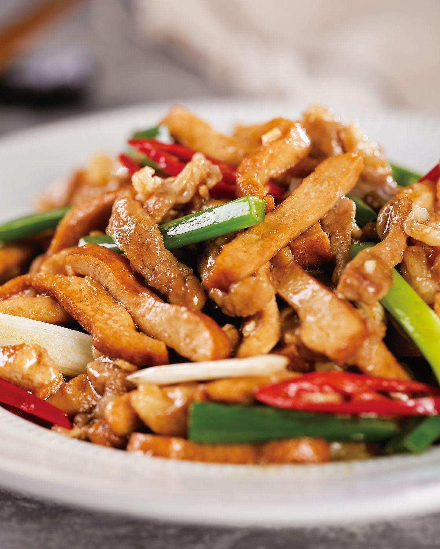 食譜:豆干炒肉絲(2)