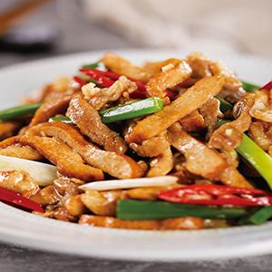 豆干炒肉絲(2)