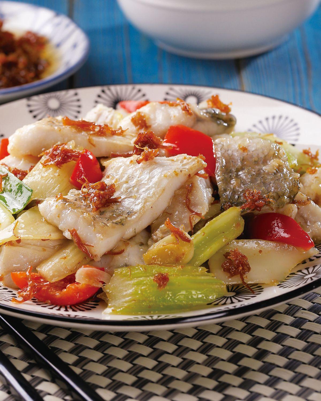 食譜:XO醬炒魚片(1)