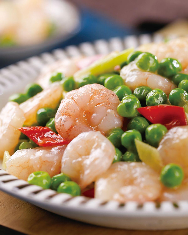 食譜:青豆蝦仁