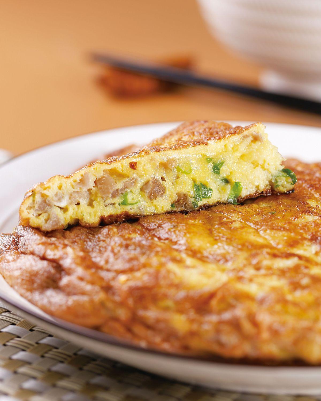 食譜:古早味菜脯蛋