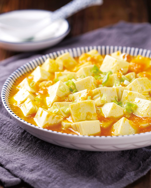 食譜:素蟹黃豆腐(2)