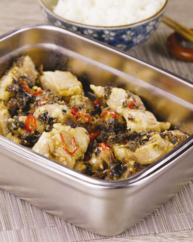 食譜:豆豉蒸排骨(4)