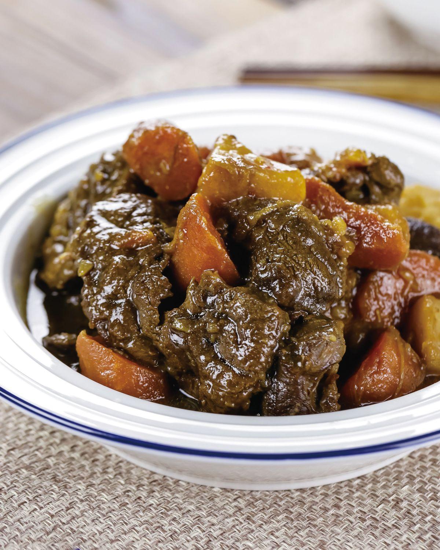食譜:土豆滷牛腱