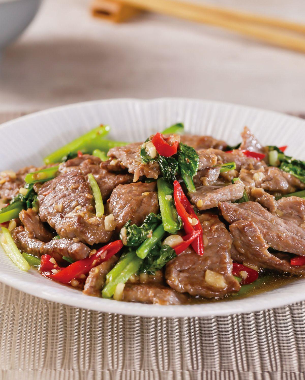 食譜:生炒牛肉