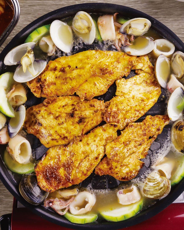 食譜:水梨醃醬烤雞肉片