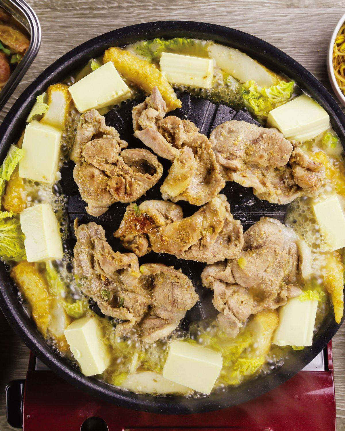 食譜:味噌醬烤豬肉