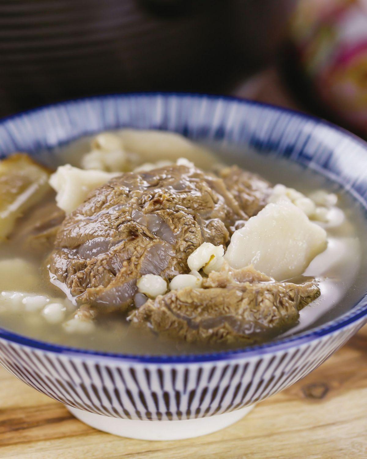 食譜:清燉牛肉湯(4)