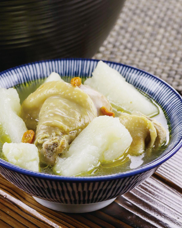 食譜:山藥枸杞雞湯(4)