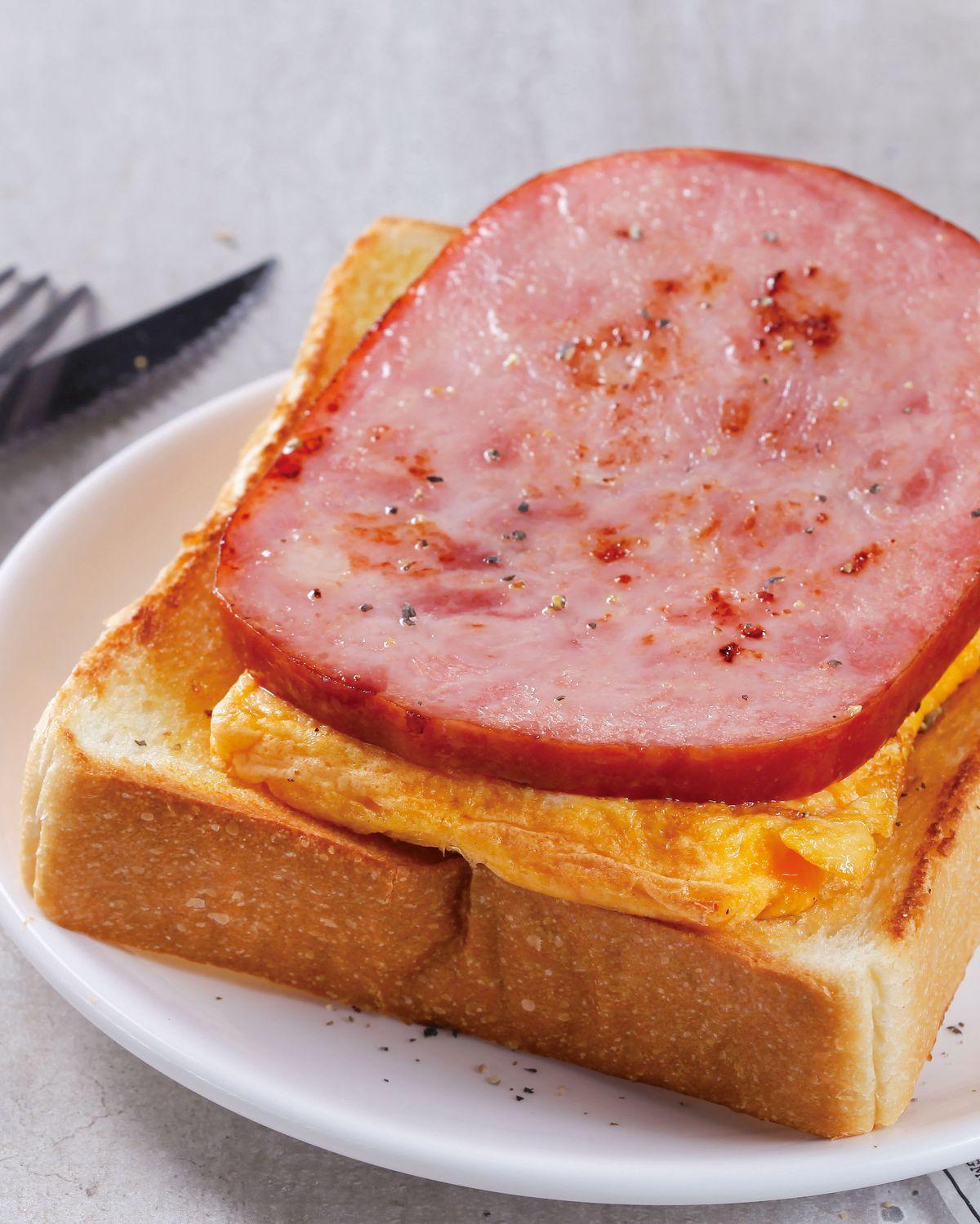 食譜:哈姆厚蛋吐司(1)