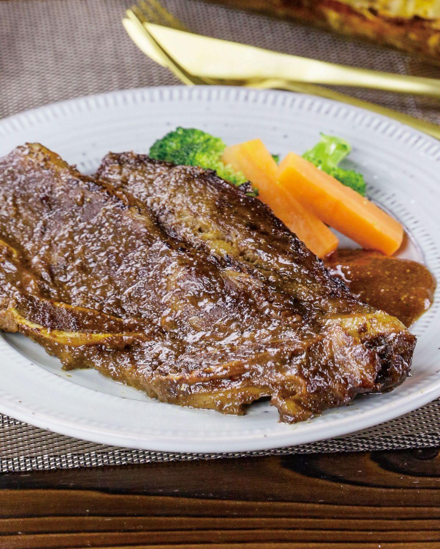 食譜:韓風水梨牛小排