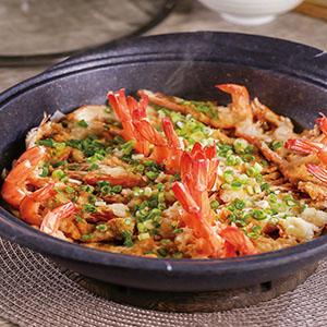 蒜泥蒸蝦(2)