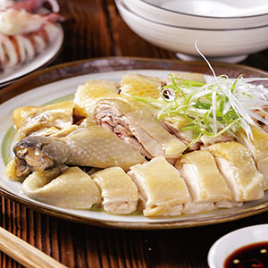 白切雞((2)