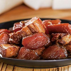 白蘿蔔滷肉