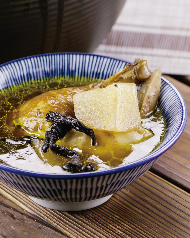 食譜:菜脯雞湯(1)