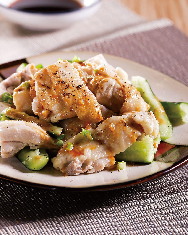 食譜:醬蒸雞肉