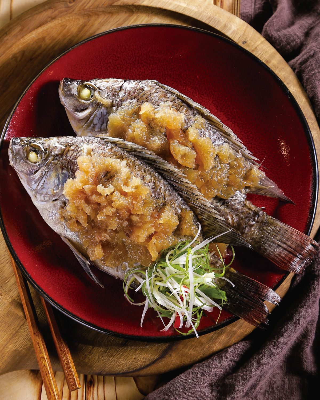 食譜:鹹冬瓜蒸魚(2)