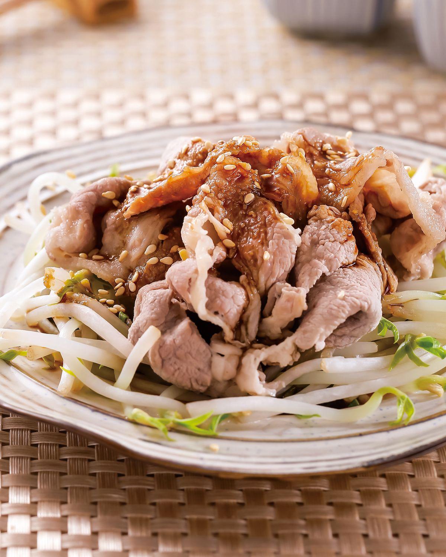 食譜:水煮肉片佐芝麻醬