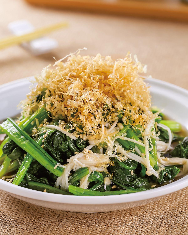 食譜:和風菠菜