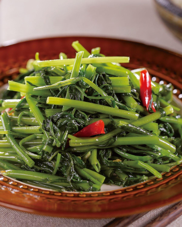 食譜:蒜香空心菜