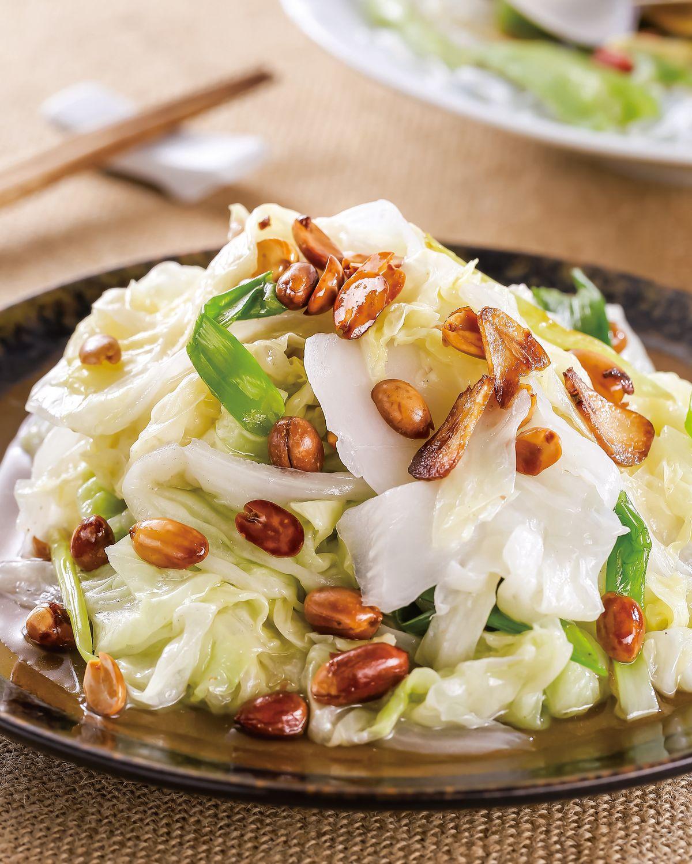 食譜:花生拌白菜