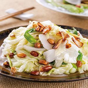 花生拌白菜