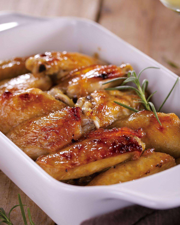食譜:香橙烤雞翅