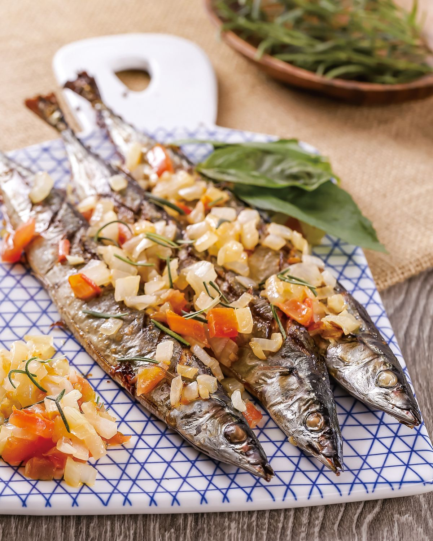 食譜:香草烤魚