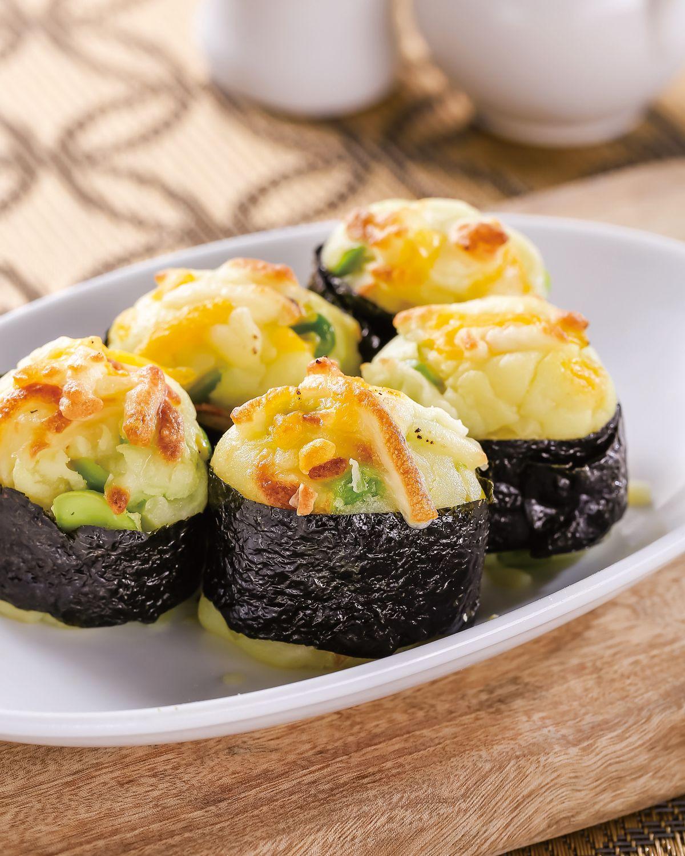 食譜:一口馬鈴薯壽司